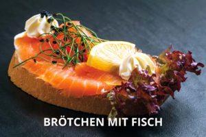 Broetchen mit Fisch